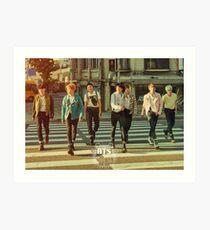 BTS/Bangtan Sonyeondan - Group Teaser  Art Print