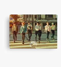 BTS/Bangtan Sonyeondan - Group Teaser  Canvas Print