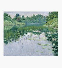 John Leslie Breck - Grey Day On The Charles Photographic Print