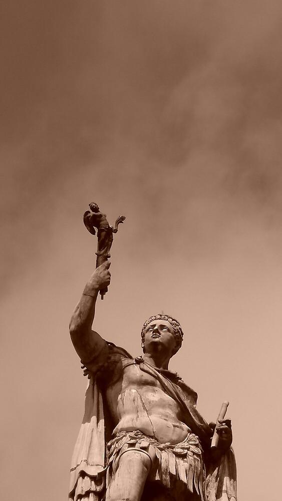 Statue by Matthew Weaver
