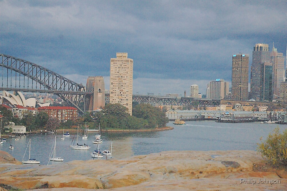 Sydney from Balls Head by Philip Johnson