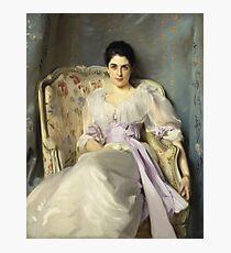 John Singer Sargent - Lady Agnew Of Lochnaw (1865 - 1932) Photographic Print