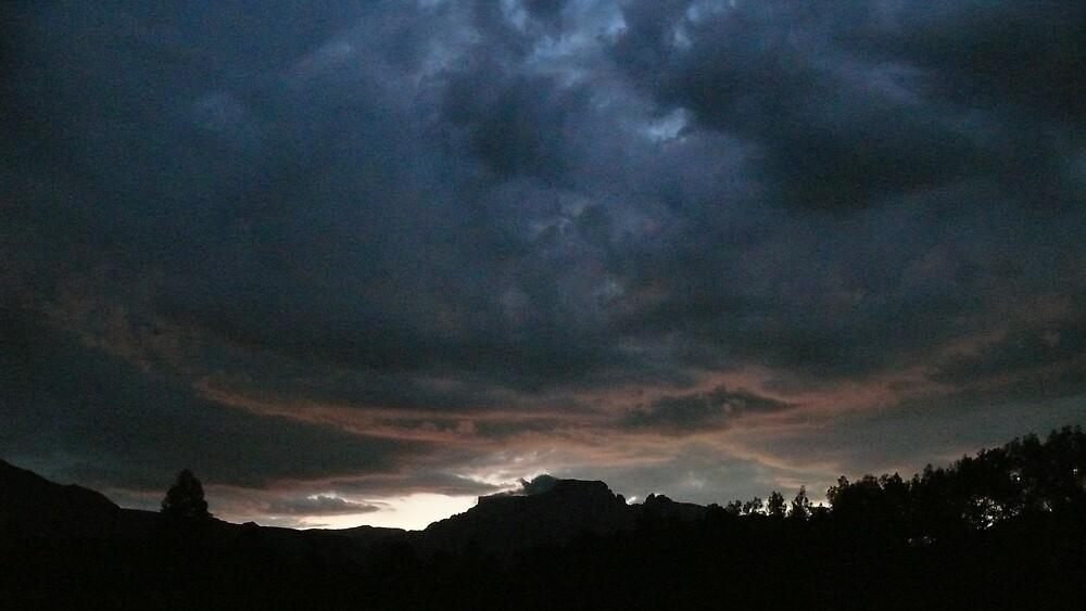 African Sky by Matthew Weaver