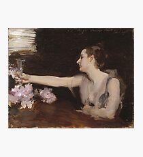 John Singer Sargent - Madame Gautreau Drinking A Toast Photographic Print