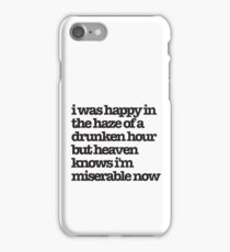 The Smiths Song Lyrics iPhone Case/Skin
