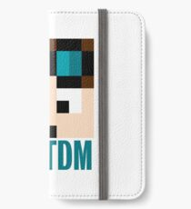 Dantdm Minecraft IPhone Wallets Cases Skins For X Plus - Skins para minecraft 1 8 x