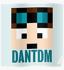 DanTDM Minecraft Poster
