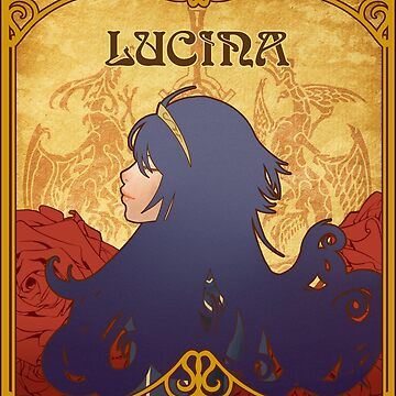 Art Nouveau Lucina by Dichotomia