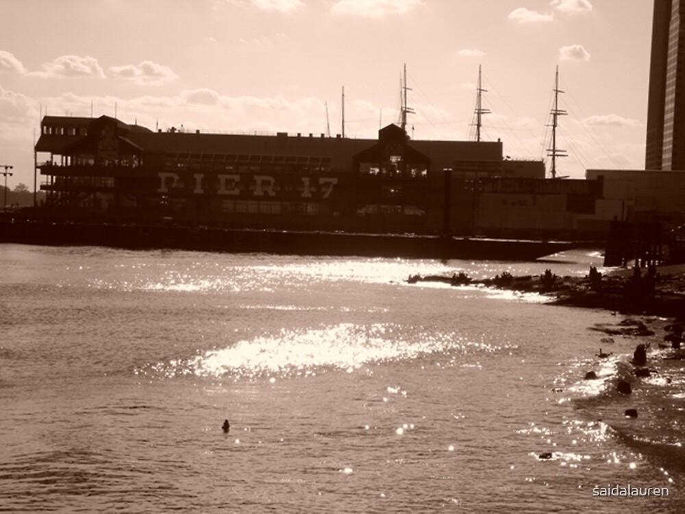 Pier 17 by saidalauren
