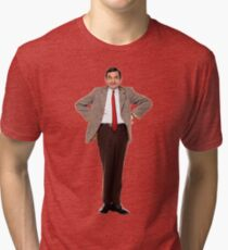Mr. Bean Tri-blend T-Shirt