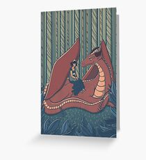 Dragon Whispers Greeting Card