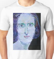 MARY SHELLEY - oil portrait Unisex T-Shirt