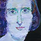 MARY SHELLEY - oil portrait by lautir