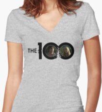 The 100 - Bellarke S2 Women's Fitted V-Neck T-Shirt