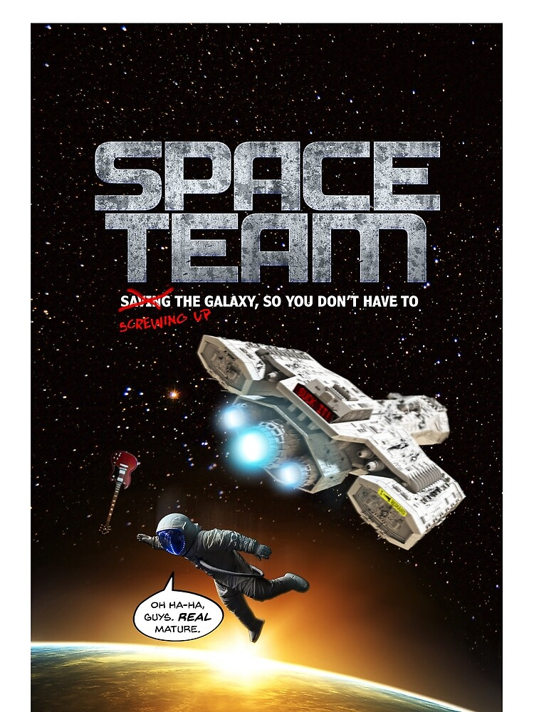 Space Team Cover by barryhutchison