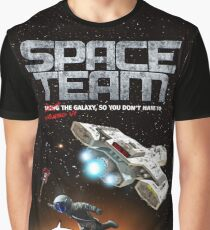Space Team Cover Graphic T-Shirt