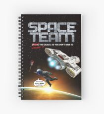 Space Team Cover Spiral Notebook
