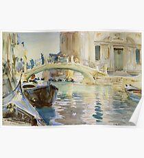 John Singer Sargent - San Giuseppe Di Castello, Venice Poster