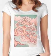 Sweet Dreams, Red Panda Women's Fitted Scoop T-Shirt
