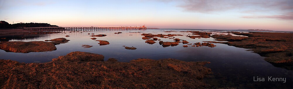 Pt.Lonsdale Pier by Lisa Kenny