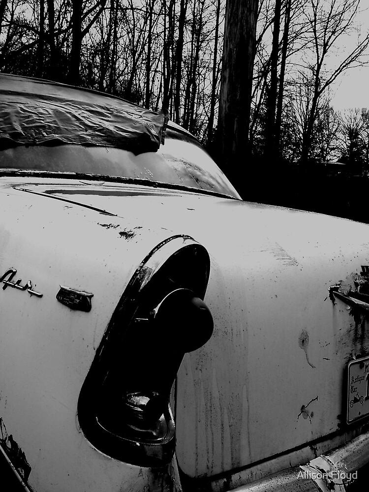 Old Car by Allison Floyd