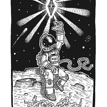 Spaceman Grey by jonrobertbaker