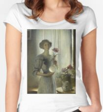 John White Alexander - June Women's Fitted Scoop T-Shirt