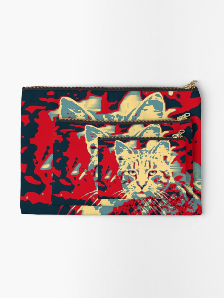 Alternate view of SUP!? Zipper Pouch