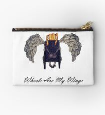 Wheels Are My Wings 2 Studio Pouch