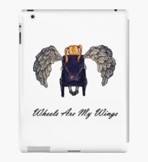 Wheels Are My Wings 2 iPad Case/Skin