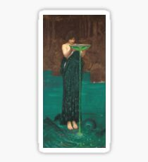 John William Waterhouse - Circe Invidiosa1892 Sticker