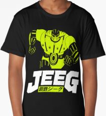 CLASSIC MECHA ANIME KOUTETSU STEEL JEEG ROBOT  Long T-Shirt