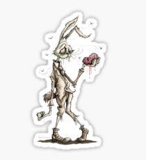 Bugs Zombunny (Sepia) Sticker
