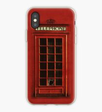 Vintage Telephone Box iPhone Case iPhone Case