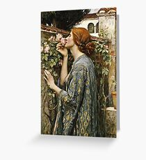 John William Waterhouse - The Soul Of The Rose Greeting Card