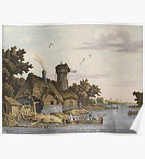 Jonas Zeuner - Mill Along A River Poster
