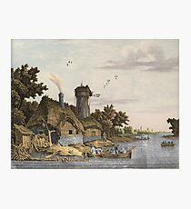 Jonas Zeuner - Mill Along A River Photographic Print