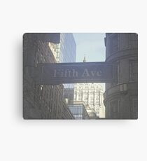 Fifth Ave Canvas Print