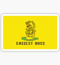 Easiest Boss Buttle Sticker