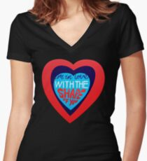 Shape Of You Women's Fitted V-Neck T-Shirt