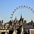London's Eye Among The Blocks by j0sh