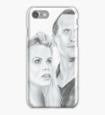The 9th Doctor and Rose iPhone Case/Skin