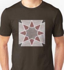 Cordoba tiles - grey and red Camiseta unisex