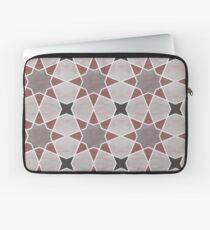 Cordoba tiles - grey and red Funda para portátil