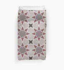 Cordoba tiles - grey and red Funda nórdica