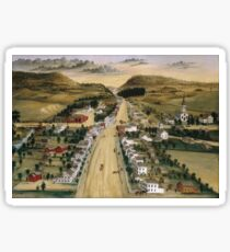 Joseph H. Hidley - View Of Poestenkill, New York Sticker