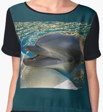 Dolphin Chiffon Top