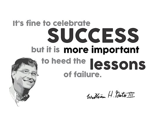success and lessons - bill gates by razvandrc