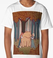 Snow White and Rose Red Long T-Shirt