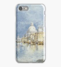 Joseph Mallord William Turner - The Grand Canal, Venice iPhone Case/Skin